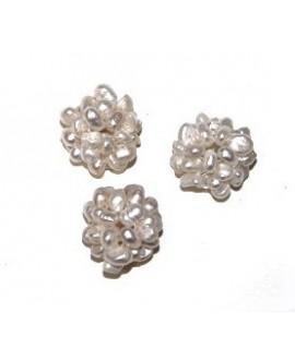 Cuentas de perlas 12mm, paso 1/2mm