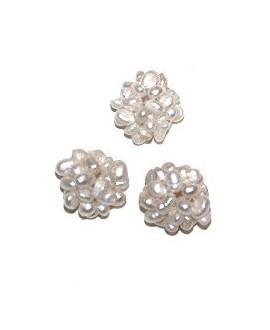Cuentas de perlas 15mm, paso 1/2mm