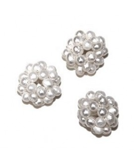 Cuentas de perlas 20mm, paso 1/2mm