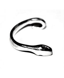 Pulsera paso 3mm, zamak baño de plata