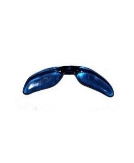 Entre-pieza alas resina azul transparente 36mm paso 2,5mm