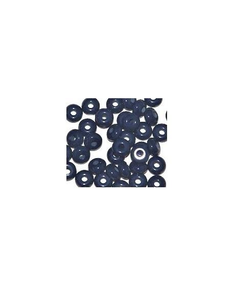 Donut resina azul prusia, 4x8mm paso 2,5mm, precio por 30 unidades