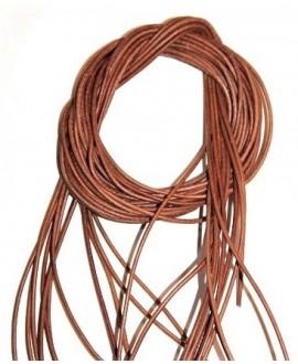 Cuero 1,5mm camel Calidad superior, precio por tiras de 1 metro