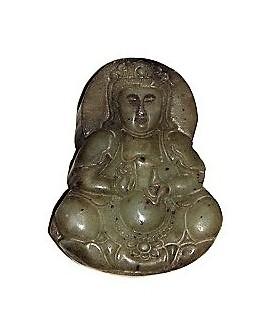 Jade colgante buda 55mm