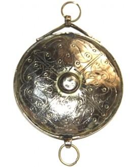 Colgante grabado estilo turkamen