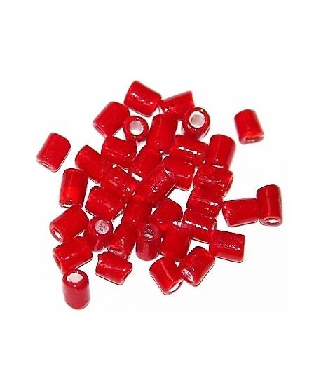 Venta on line cuentas de cristal indio for Tubo corrugado rojo precio