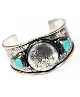 Brazalete amuleto vajrapani con turquesa