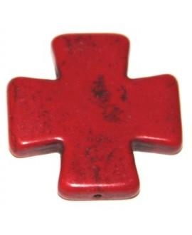 Cruz HOOLITA roja 38mm, paso 1mm