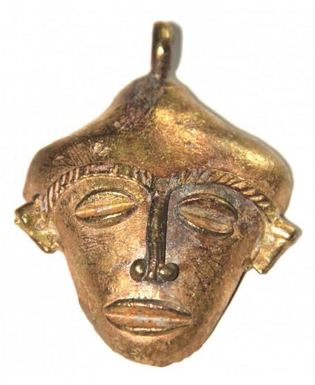 Mascara amuleto Ghana 75x55mm