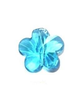 Entre-pieza flor azul 6mm, paso 1mm