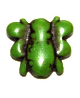 Howlita abejita verde 5mm, paso 1mm