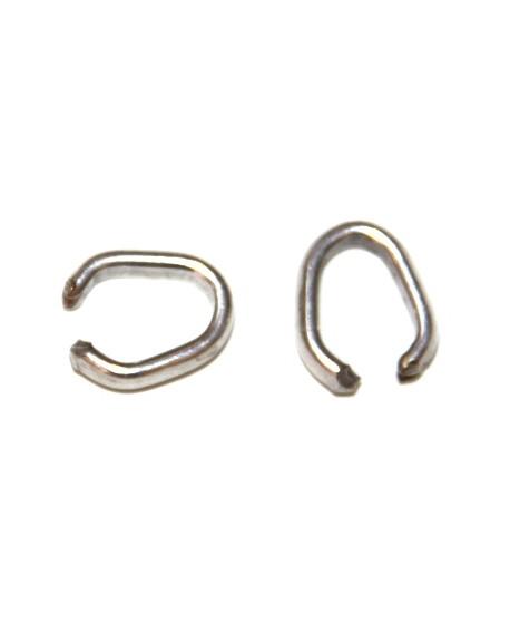 Venta on line de cuentas abalorios fornituras anillas for Bano de plata precio