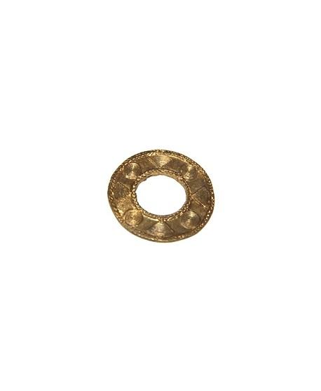 Colgante aro bronce 50mm