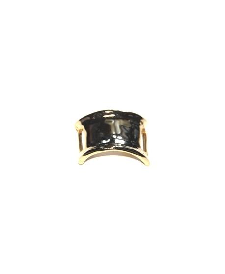 Pasador pulsera ancho paso 24mm, baño oro