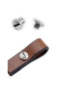 Tornillo 6,8x7,2 mm, zamak baño de plata