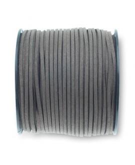 Antelina 3x1,4mm gris, precio por 5 metros