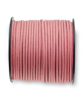 Antelina 3x1,4mm rosa palo, precio por 5 metros