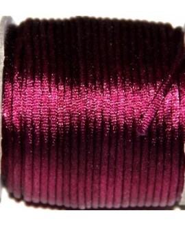 Cola de ratón 2mm color burdeo, precio por 3 metros