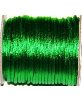 Cola de ratón 2mm color verde, precio por 3 metros