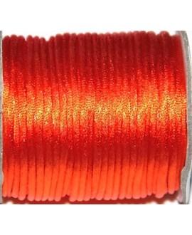 Cola de ratón 2mm color naranja, precio por 3 metros