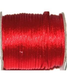 Cola de ratón 2mm color rojo, precio por 3 metros