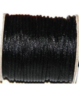 Cola de ratón 2mm color negro, precio por 3 metros