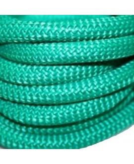 Cordón de Paracord o escalada esmeralda  9mm, precio por 20 cm