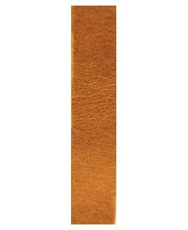 Cuero hecho en España ocre 10mm, precio por 20cm,