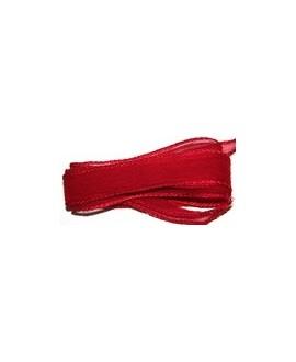Cinta de seda rojo 105x2cm