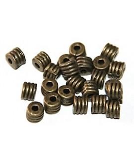 tubo bronce 3mm, paso 2mm, precio por 10 unidades