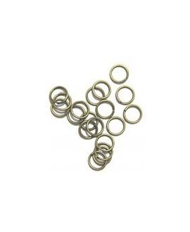Anilla 1x10mm bronce precio por 100 unidades