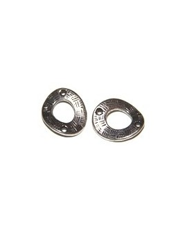 Aro 20x15mm paso 1mm metal, precio por 16 unidades