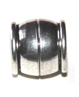 Cierre imán metal 12x12mm, paso 8mm
