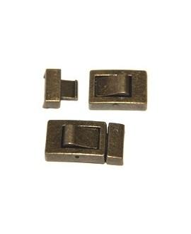 Cierre metal bronce 10x3mm