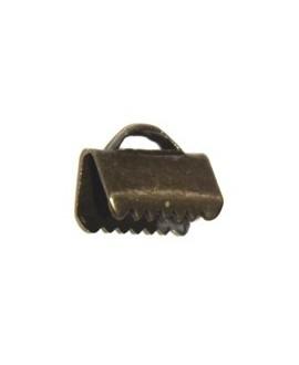 Terminal 10mm bronce, precio por dos unidades