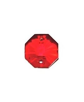 Entre-pieza 14mm 2 agujeros cristal SW siam, precio por 11 unidades