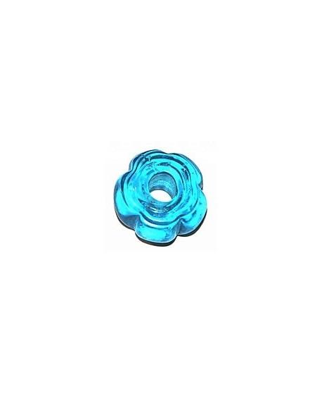 Cuenta flor 25mm paso 8mm, precio 6 unidades