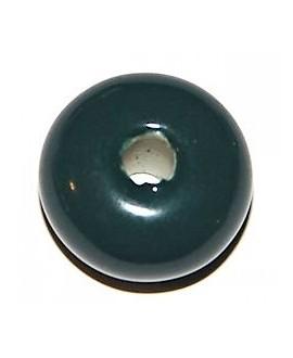 Porcelana rondel oceano 22mm, paso 4mm