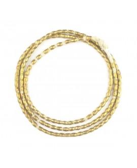 Tubo bronce etíopes , 4-5mm, paso 1,5mm, precio por ristra