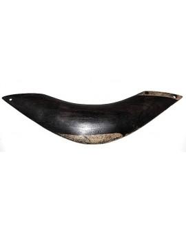 Base collar de ébano 19x4 cm 4 agujeros de 2mm, Malí