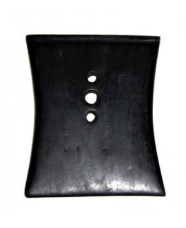 Colgante ébano 80x65mm, Malí