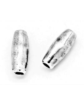 Tubo 18mm paso 3mm, zamak baño de plata