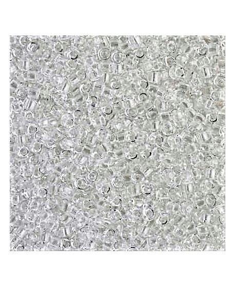 3271f1100477 Abalorio transparente plata 2mm paso 1mm