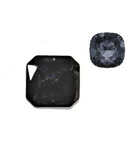 Cabujón cristal cuadrado facetado  cristal AB 23mm