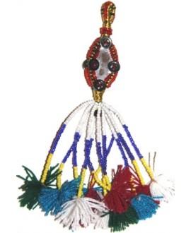 borla tribal kuchi, 16,5cm