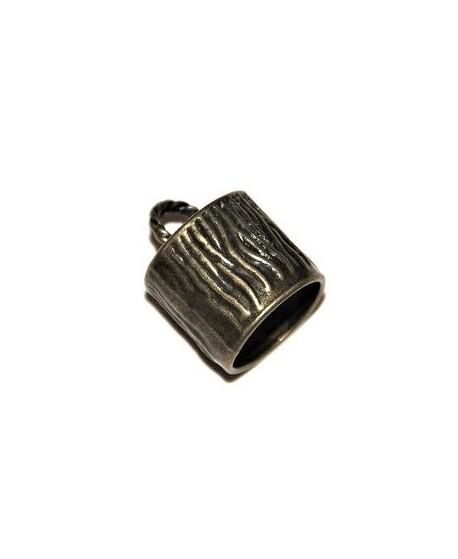 Capuchón bronce 20x21x18mm paso 4mm