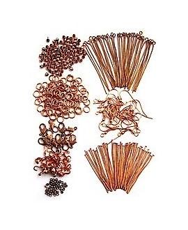 Kits cuentas para joyería, metal cobre