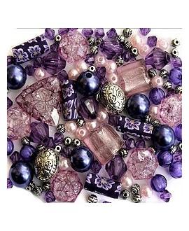 Kits Purple Haze  de cuentas acrílicas, 40gr