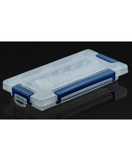Caja almacenamiento de cuentas  23x12cm 15 compartimentos