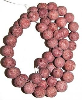 Coral esponja calidad superior  15mm paso 1mm. precio por ristra